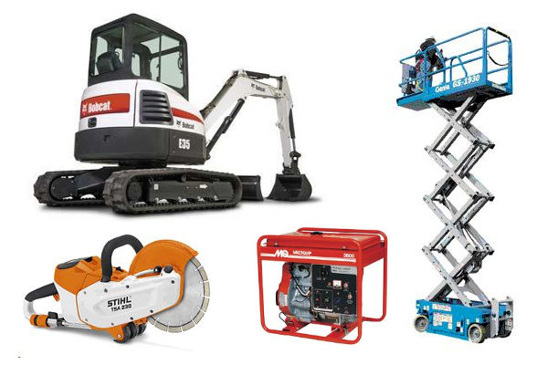 Equipment Rentals in the Western Chicago Metro Area