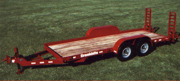 Where to find 16  LOWBOY TRAILER in Chicago