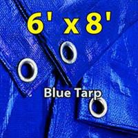 Rental store for 6X8 TARP-BLUE POLY in Chicago IL