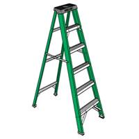 Rental store for 12  STEP LADDER-FIBERGLASS in Chicago IL