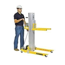 Where to find FORKLIFT MAN 16  450  YELLOW COMPACT in Chicago