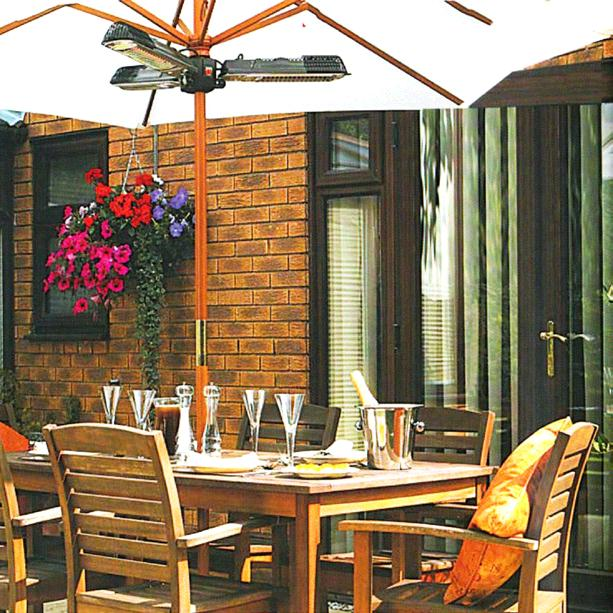 Where to find 5K TRIHEAD PATIO POLE HEATER electric in Chicago